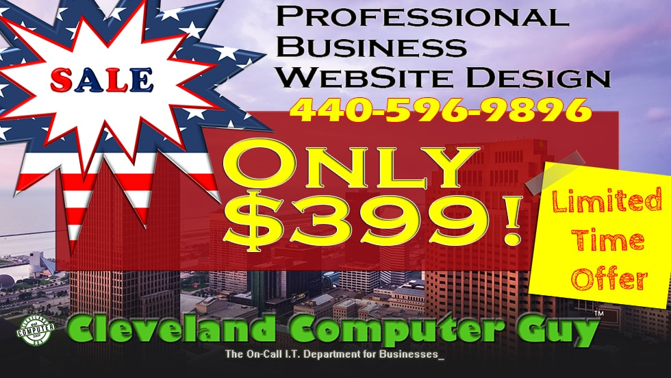 Website Design Sale Cleveland Parma Ohio